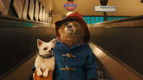 Michael Bond's classic bear keeps his classic look.